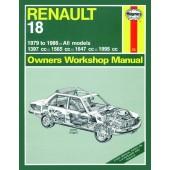 Haynes Renault 18 Petrol (79 - 86) up to D