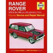 Haynes Range Rover V8 Petrol