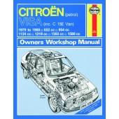 Haynes manual: Citroen Visa Petrol (79-88) up to F