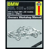 Haynes BMW 525, 528 & 528i