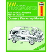 Haynes manual: Volkswagen Transporter (air-cooled) Petrol (79-82) up to Y