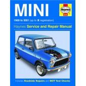 Haynes manual: Mini (69-01) Petrol up to X