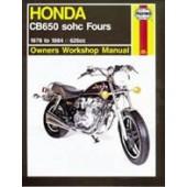 Haynes manual: Honda CB650 sohc Fours (78-84)