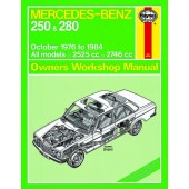 Haynes manual: Mercedes-Benz 250 and 280 123 Series Petrol (Oct 76-84) up to B (Classic Reprint)