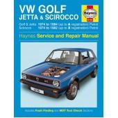 Haynes manual: Volkswagen Golf, Volkswagen Jetta Volkswagen Scirocco VW Golf VW Jetta VW Scirocco VW Scirroco