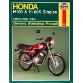 Haynes Honda H100 & H100S Singles (80 - 92)