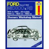 Haynes Ford Escort Mexico & RS MK II Owner's Workshop Man