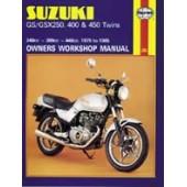 Haynes manual: Suzuki GS/GSX250, 400 & 450 Twins (79-85)