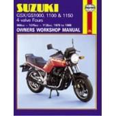 Haynes manual: Suzuki GS/GSX1000, 1100 & 1150 4-valve Fours (79-88)