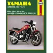 Haynes manual: Yamaha XJ650 & 750 Fours (80-84)