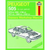 Haynes Peugeot 505 Petrol (79 - 89) up to G