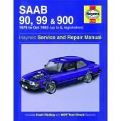 Haynes Saab 90, 99 & 900 (79 - Oct 93) up to L