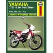 Haynes manual: Yamaha DT50 & 80 Trail Bikes (78-95)