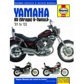 Haynes manual: Yamaha XV (Virago) V-Twins (81-03)