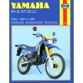 Haynes Yamaha RD & DT125LC (82 - 87)