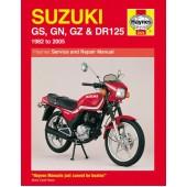 Haynes manual: Suzuki GS, GN, GZ & DR125 Singles (82-05)