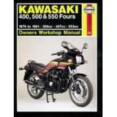 Haynes manual: Kawasaki 400, 500 & 550 Fours (79-91)