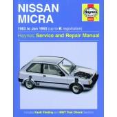 Haynes Nissan Micra (83 - Jan 93) up to K