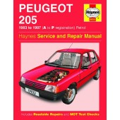 Haynes manual: Peugeot 205 Petrol (83-97) A to P