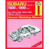 Haynes manual: Subaru 1600 and Subaru 1800 (Nov 79-90) up to H