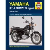 Haynes manual: Yamaha XT & SR125 (82-03)