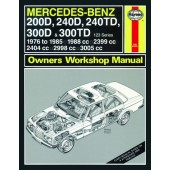 Haynes manual: Mercedes-Benz 200 D, 240 D, 240 TD, 300 D and 300 TD 123 Series Diesel (Oct 76-85) up to C