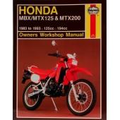 Haynes Honda MBX/MTX125 & MTX200 (83 - 93)