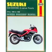 Haynes Suzuki GS/GSX550 4-valve Fours (83 - 88)