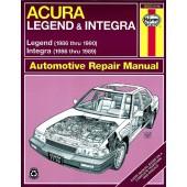 Haynes Acura Integra & Legend (86 - 90)