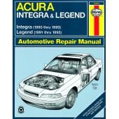 Haynes Acura Integra & Legend (90 - 95)