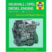 Haynes manual: Vauxhall/Opel 1.5, 1.6 and 1.7 litre Diesel Engine (82-96) up to N