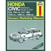 Haynes manual: Honda Civic (Feb 84-Oct 87) A to E