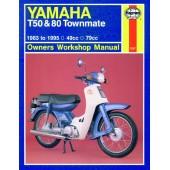 Haynes Yamaha T50 & 80 Townmate (83 - 95)