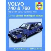 Haynes manual: Volvo 740 and 760 Petrol (82-91) up to J