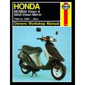 Haynes Honda NE/NB50 Vision & SA50 Vision Met-in (85 - 95)