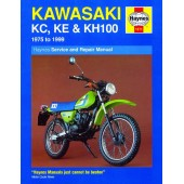 Haynes manual: Kawasaki KC, KE and KH100 (75-99)