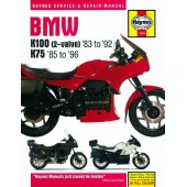 Haynes manual: BMW K100 and 75 2-valve Models (83-96)