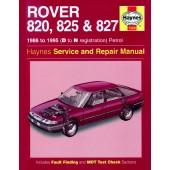 Haynes Rover 820, 825 & 827 Petrol (86 - 95) D to N