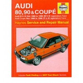 Haynes manual: Audi 80, 90 (Oct 86-90) D to H, and Coupe (Nov 88-90) F to H