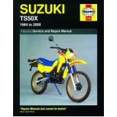 Haynes manual: Suzuki TS50X (84-00)