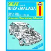 Haynes Seat Ibiza & Malaga Petrol (85 - 92) B to K