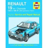 Haynes manual: Renault 19 Petrol (89-96) F to N