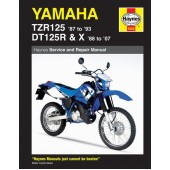 Haynes manual: Yamaha TZR125 (87-93) and DT125R/X (88-07)