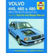 Haynes manual: Volvo 440, Volvo 460 and Volvo 480 Petrol (87-97) D to P