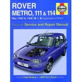 Haynes Rover Metro, 111 & 114 Petrol (May 90 - 98) G to S