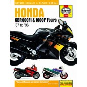 Haynes manual: Honda CBR600F1 and 1000F Fours (87-96)