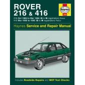 Haynes Rover 216 & 416 Petrol (89 - 96) G to N