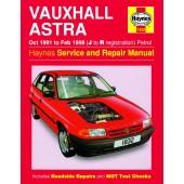 Haynes Vauxhall Astra Petrol (Oct 91 - Feb 98) J to R
