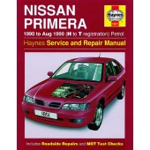 Haynes manual: Nissan Primera Petrol (90-Aug 99) H to T