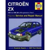 Haynes manual: Citroen ZX Petrol (91-98) H to S